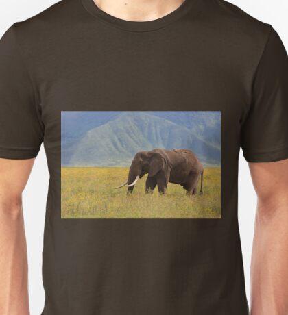 African Bush Elephant (Loxodonta africana) Unisex T-Shirt