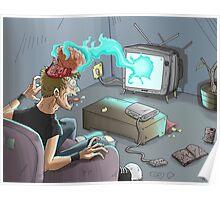 Efectos de la TV Poster