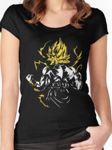 Super Saiyan 2 Women's Fitted Scoop T-Shirt