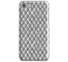 Scale Armor - Silver iPhone Case/Skin