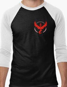 Team Valor Pokemon Go! Men's Baseball ¾ T-Shirt