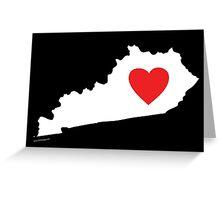 I Love Kentucky Greeting Card