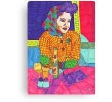 Painted Ladies - #12 Canvas Print