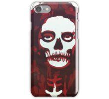 Skull Girl (red) iPhone Case/Skin