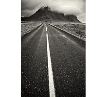 Road in Iceland Photographic Print
