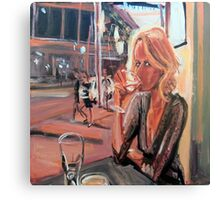 Drink on Liverpool St Canvas Print