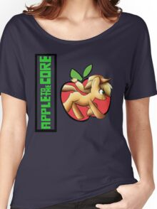 apple core Women's Relaxed Fit T-Shirt