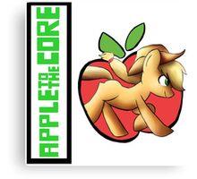 apple core Canvas Print