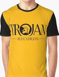 TROJAN RECORDS LOGO 3 Graphic T-Shirt