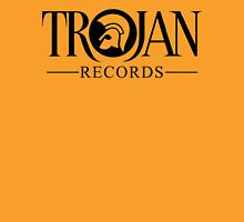 TROJAN RECORDS LOGO 3 Womens Fitted T-Shirt