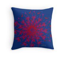 Abstract 540B Fractal Throw Pillow