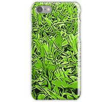 Abstract Grass iPhone Case/Skin