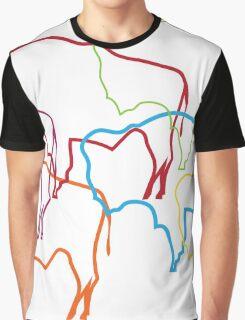 wyoming pride blur Graphic T-Shirt
