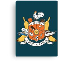 Bluth Family Crest Canvas Print