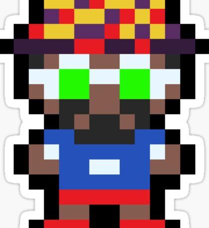 Pixel BD Joe Sticker