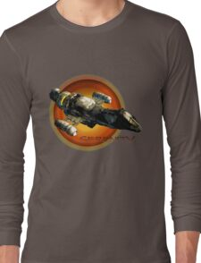 Firefly - Serenity Spaceship Long Sleeve T-Shirt