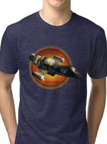 Firefly - Serenity Spaceship Tri-blend T-Shirt