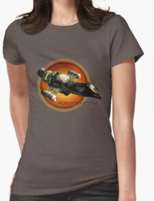 Firefly - Serenity Spaceship Womens Fitted T-Shirt