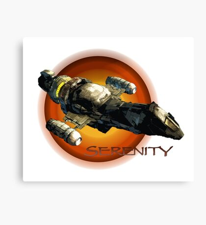 Firefly - Serenity Spaceship Canvas Print