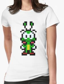 Pixel Bug Womens Fitted T-Shirt
