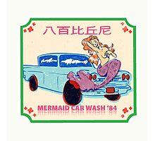 Mermaid Carwash '84 Photographic Print