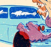 Mermaid Carwash '84 Sticker