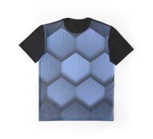 Orthokuben blau Graphic T-Shirt