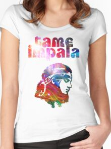 Tame Impala Kevin Parker Women's Fitted Scoop T-Shirt