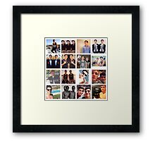 Jack Gilinsky Collage  Framed Print