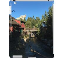 Grizzly water iPad Case/Skin