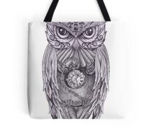 Time Flies With The Owls Tote Bag