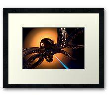Octorobolaserpus farbig Framed Print