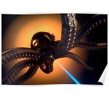 Octorobolaserpus farbig Poster
