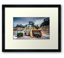 Big Boys Off-Road Toys  Framed Print