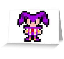 Pixel NiGHTS Greeting Card