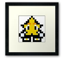 Pixel Ristar Framed Print