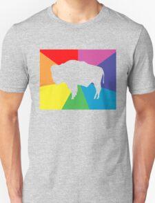 wyoming color burst Unisex T-Shirt