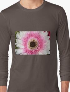 Pink & White Daisy Long Sleeve T-Shirt