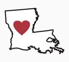 I Love Louisiana by Carolina Swagger