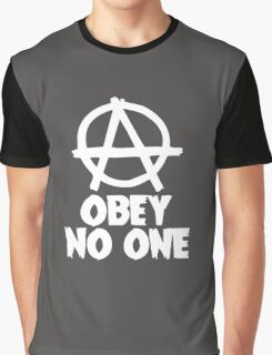 Obey No One Graphic T-Shirt