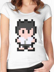 Pixel Segata Sanshiro Women's Fitted Scoop T-Shirt