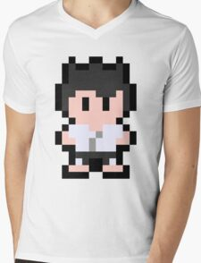 Pixel Segata Sanshiro Mens V-Neck T-Shirt