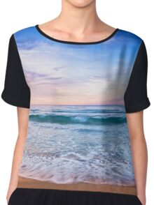Moonscape Bunker Bay Margaret River - Clothing Chiffon Top