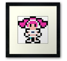 Pixel Ulala Framed Print