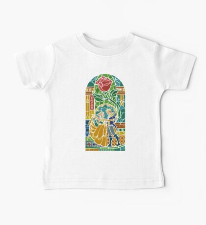 Beauty and The Beast - Stained Glass Baby Tee
