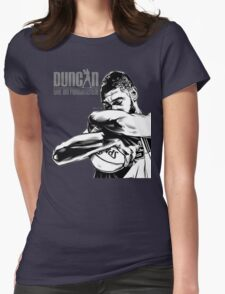 TIM DUNCAN,PROFESSIONAL BASKETBALL PLAYERS Womens Fitted T-Shirt