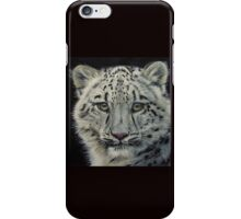 Snow White - snow leopard  iPhone Case/Skin