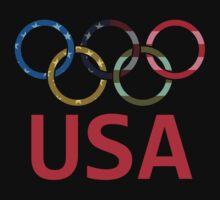 USA Olympic One Piece - Short Sleeve