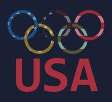 USA Olympic Kids Tee