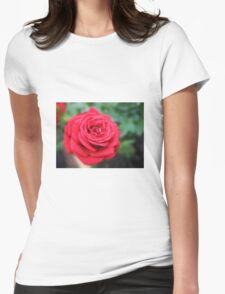 Red Miniature Rose with Bud T-Shirt